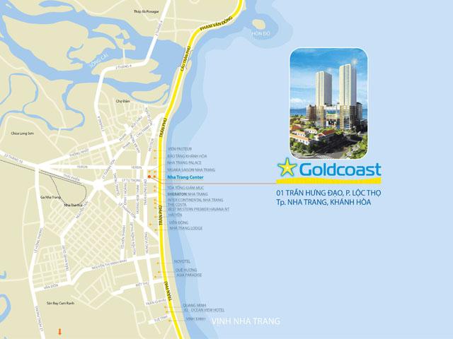 vi tri du an Gold Coast Nha Trang