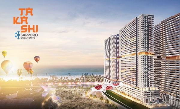 tong quan du an - Phối cảnh dự án căn hộ Takashi Ocean Suite Kỳ Co
