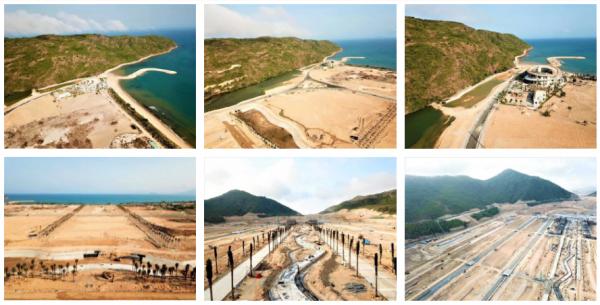 Hinh anh thuc te du an - Một số hình ảnh thực tế dự án Hải Giang Merry Land