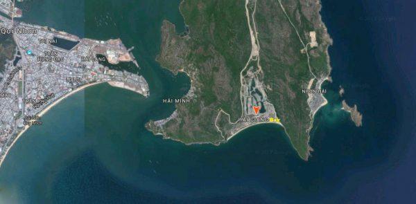 Vi tri du an - Vị trí dự án Hải Giang Merry Land
