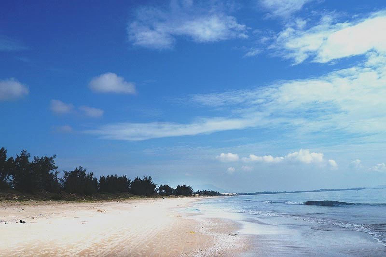 Biển La Gi vẫn còn giữ được vẻ hoang sơ quyến rũ