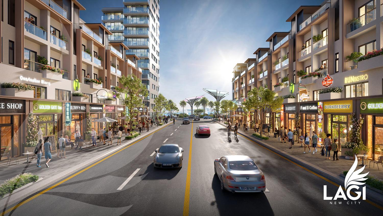 Mẫu thiết kế dự án Lagi New City