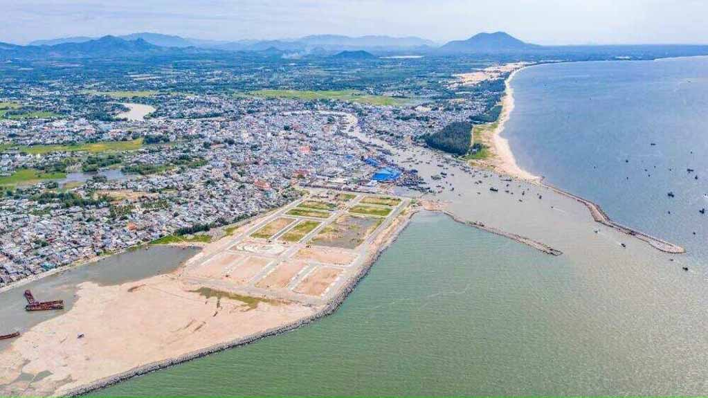 Vị trí thuận lợi thương mại cho Dự án Lagi New City
